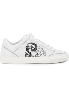 Versace Medusa print low top sneakers