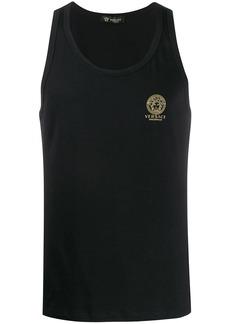 Versace Medusa print tank top