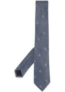 Versace Medusa print tie