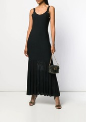 Versace Medusa ribbon knit dress