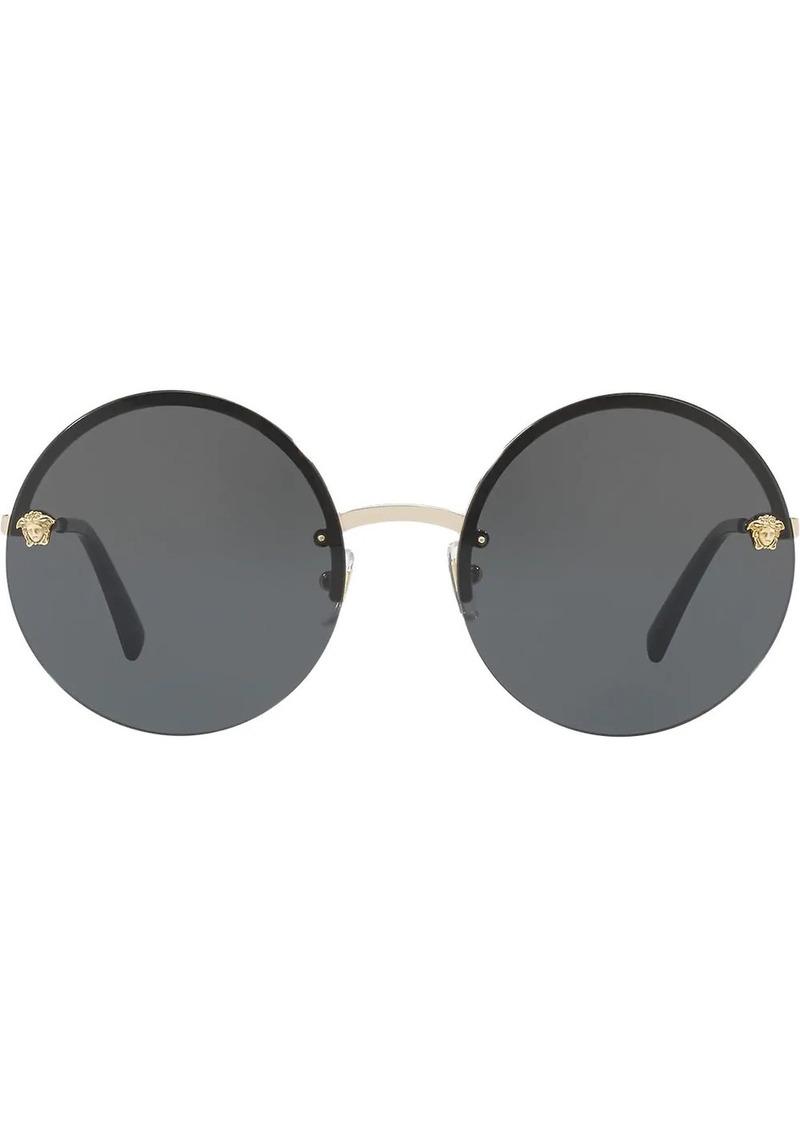 Versace Medusa round-frame sunglasses
