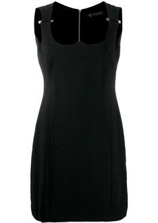 Versace Medusa safety pin dress