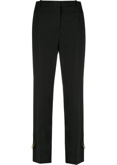 Versace Medusa safety pin trousers