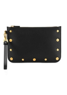 Versace Medusa stud clutch bag