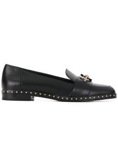Versace Medusa studded loafers