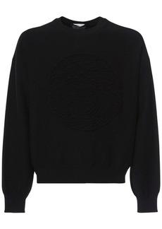 Versace Medusa Wool Knit Crewneck Sweater