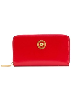 Versace Medusa zipped wallet