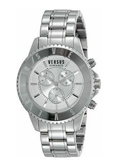 Versace Men's 44mm Tokyo Chronograph Watch w/ Bracelet Strap  Stainless Steel