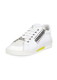 Versace Men's Casual Leather Sneakers
