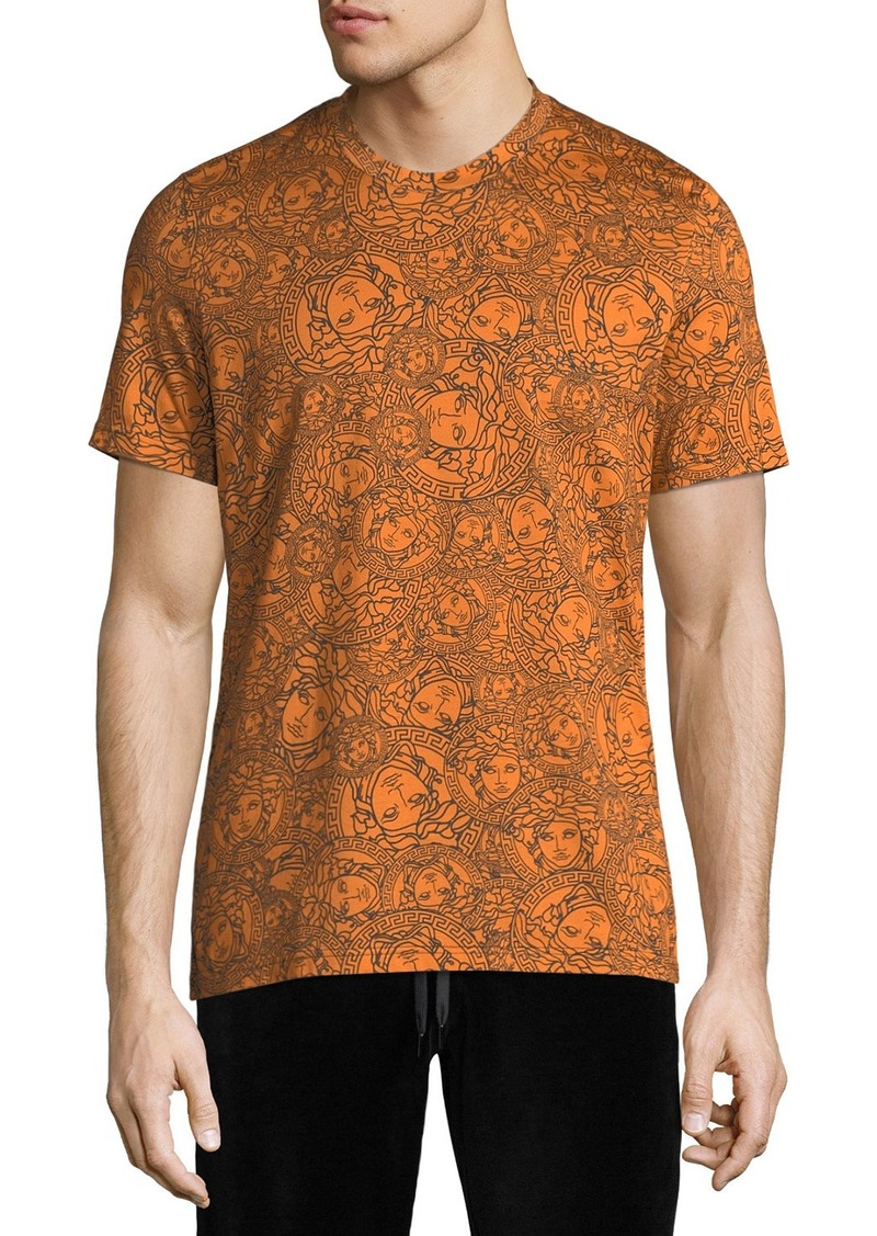 27e813eeb Versace Men's Crewneck Medusa-Head Print T-Shirt | Casual Shirts