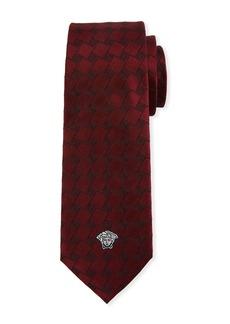 Versace Men's Fret Silk Tie