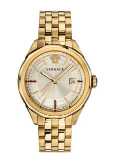 Versace Men's Glaze 43mm Bracelet Watch  Gold IP