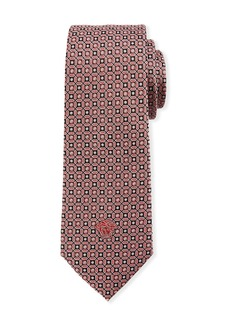 Versace Men's Medallion Silk Tie