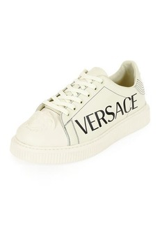 Versace Men's Medusa and Logo-Print Sneakers
