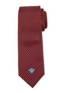 Versace Men's Neat-Print Silk Tie
