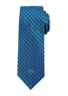 Versace Men's Polka-Dot Silk Tie