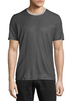 Versace Men's Roll-Sleeve Crewneck T-Shirt