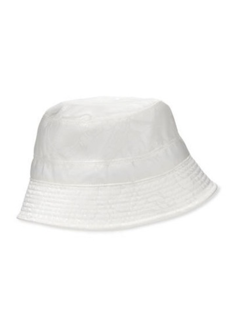 Versace Men's Tonal Pattern Bucket Hat