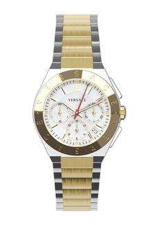 Versace Men's Two-Tone Stainless Steel Bracelet Watch, 41mm