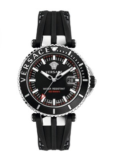 Versace Men's V-Race Diver Sport Watch, 46mm