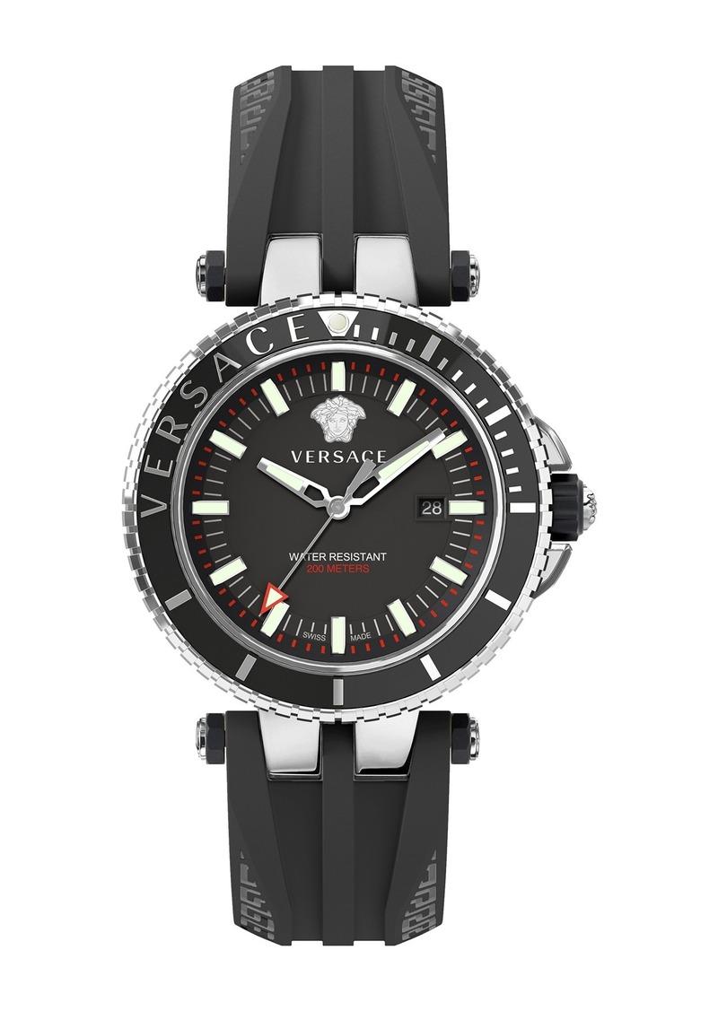 Men's Versace V-Race Diver Watch, 46mm