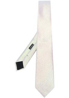 Versace metallic sheen tie