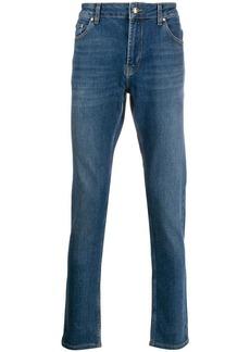 Versace mid-rise slim leg jeans
