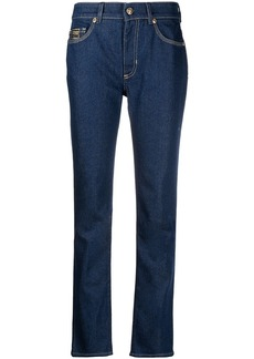 Versace mid rise straight jeans