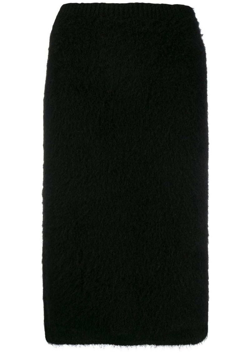 Versace midi knitted pencil skirt