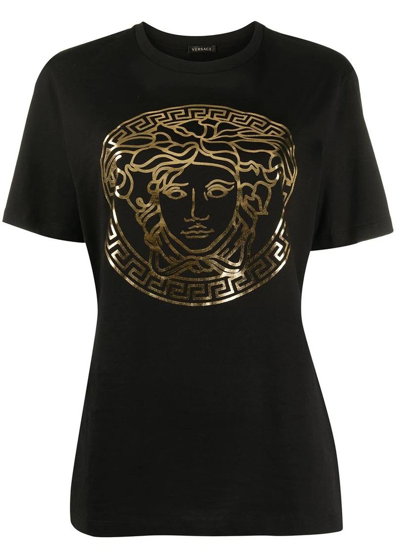 Versace motif detail T-shirt