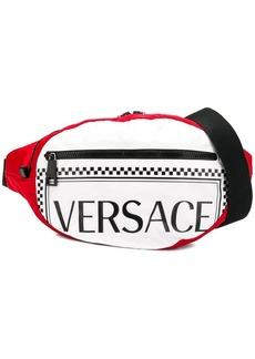 Versace multi-pattern belt bag