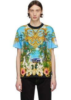 Versace Multicolor Barocco Jungle T-Shirt