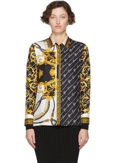 Versace Multicolor Barocco Signature Shirt
