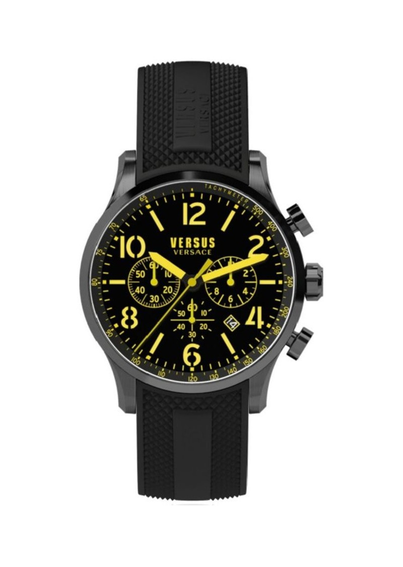 Versace Naboo Stainless Steel Chronograph Watch