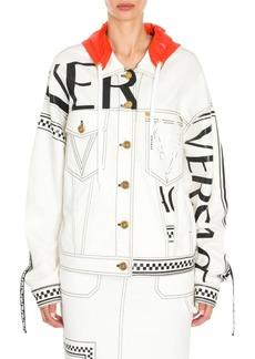 Versace New Millenial Denim Jacket