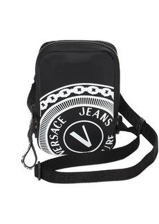 Versace Nylon Logo Crossbody