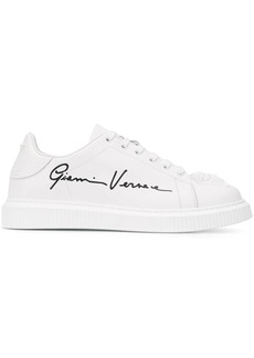 Versace Nyx Medusa leather sneakers