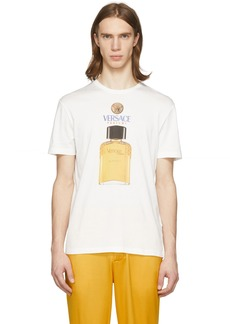 Versace Off-White Perfume T-Shirt