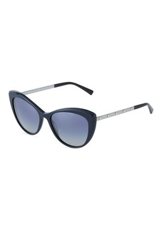 Versace Oversized Acetate Cat-Eye Sunglasses