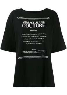 Versace oversized T-shirt
