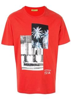 Versace palm tree print T-shirt