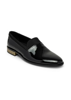 Versace Pantofola Leather Loafers