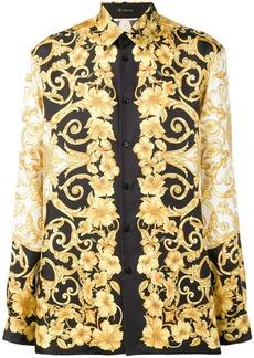 Versace Baroque-print shirt