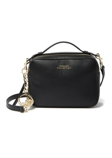 Versace Pebbled Leather Crossbody