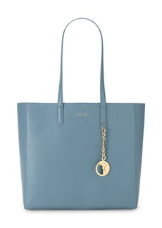 Versace Pebbled Leather Tote