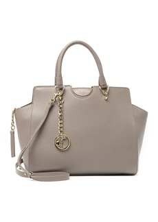 Versace Pebbled Leather Tote Bag