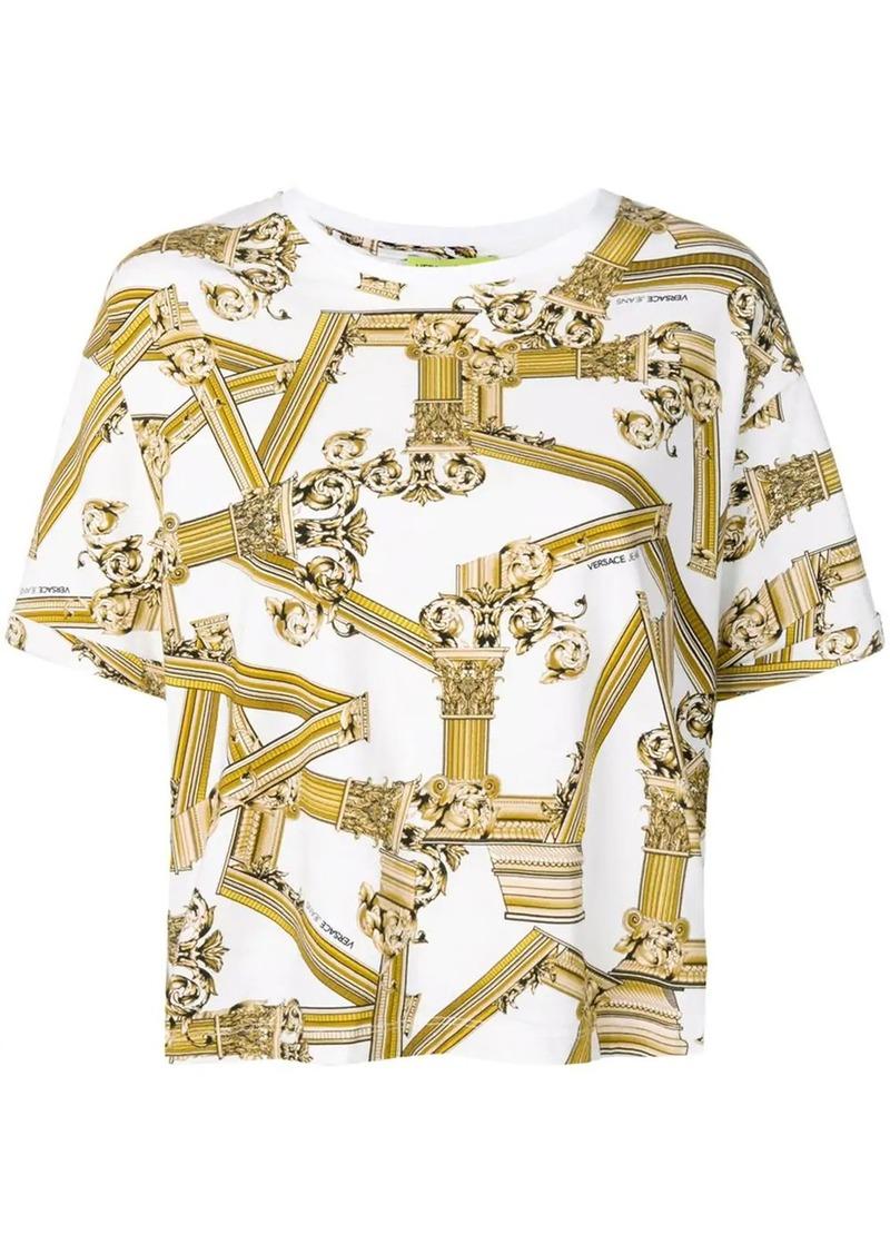 Versace pillar print T-shirt