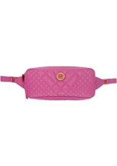 Versace Pink Quilted Medusa Tribute Belt Bag