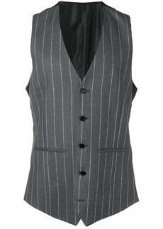Versace pinstriped vest