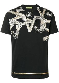 Versace pinted round neck T-shirt